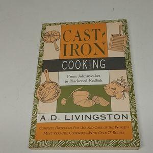 Cast Iron Cooking Cookbook,euc